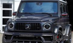 梅赛德斯奔驰AMG G63的碳纤维改头换面