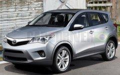 明年国产换代 第四代丰田RAV4效果图曝光